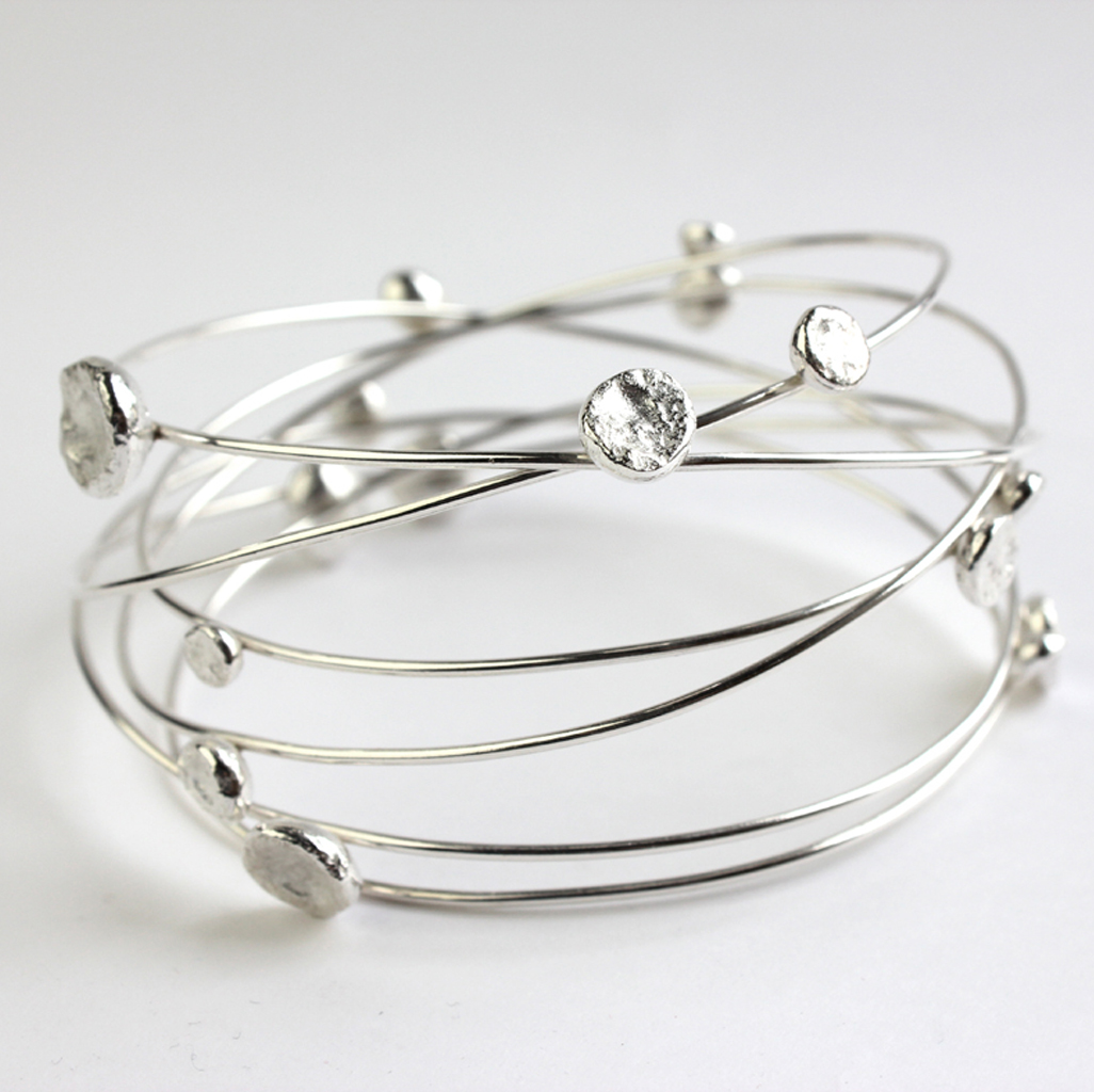 Multi wire bangle | Contemporary Bangles by contemporary jewellery ...