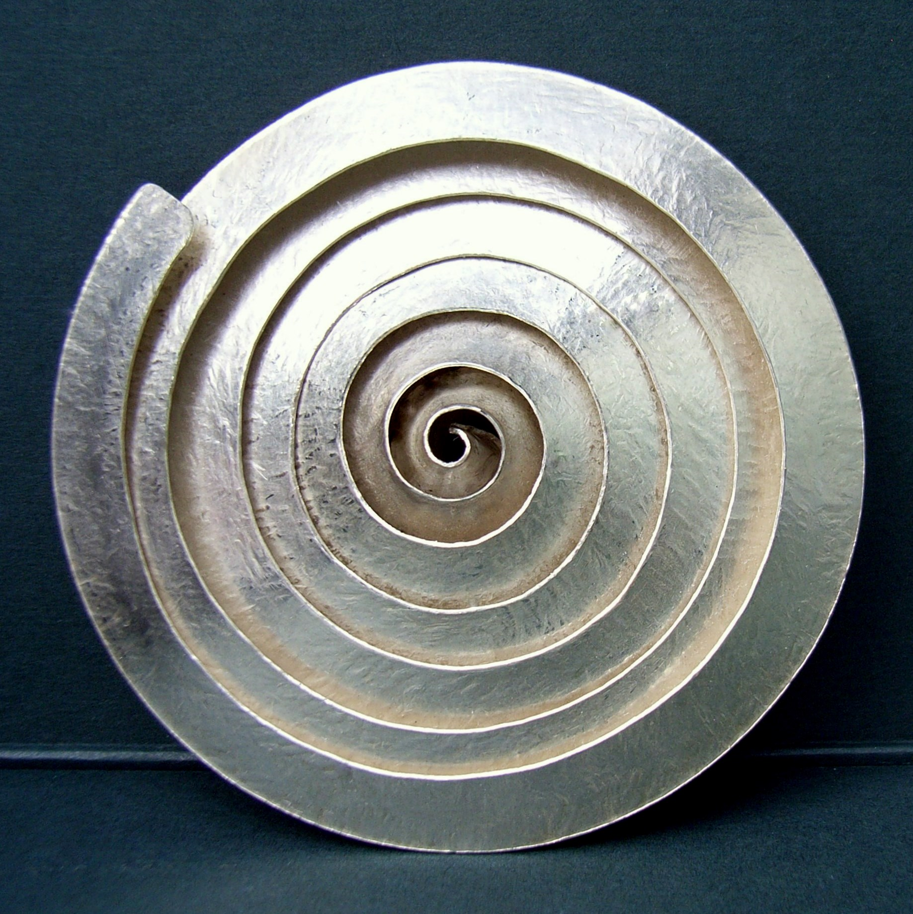 Contemporary Silver Brooches