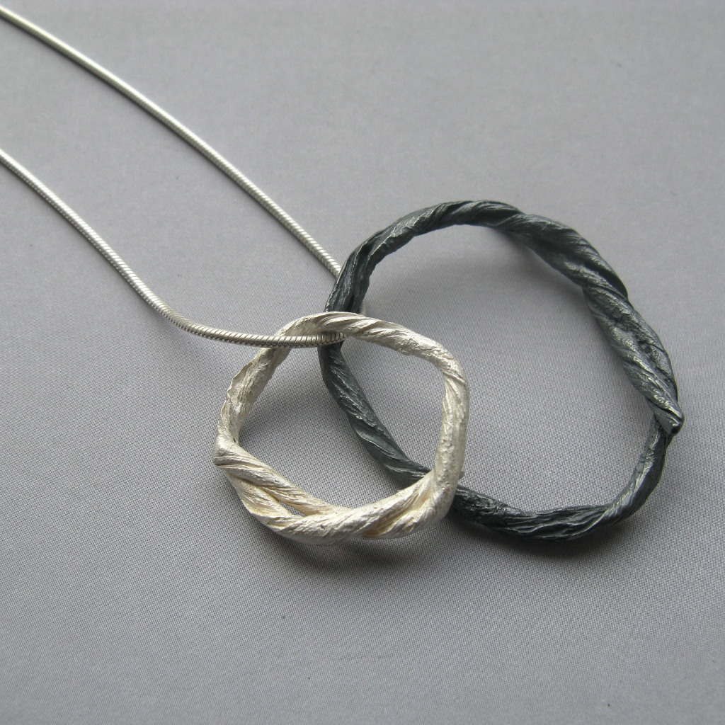 String Pendant Contemporary Necklaces Pendants By