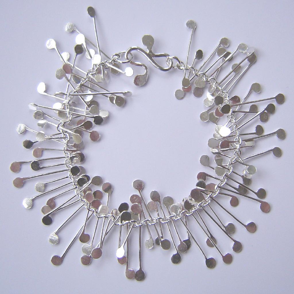 Chaos Wire Bracelet, Polished  Contemporary Bracelets By. Gold Open Bangle Bracelets. Good Luck Bracelet. Real Gold Earrings. Upside Down Triangle Necklace