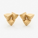 Bloom Earrings Triple GP