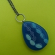 long blue pendant