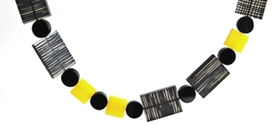 Sarah Packington - Yellow Metro Necklace