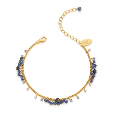 Sapphire Scattered Row Bracelet