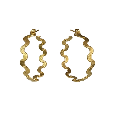 Selene Large Hoop Earrings