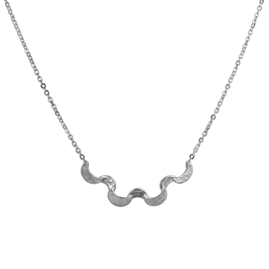 Selene Small Ripple Necklace