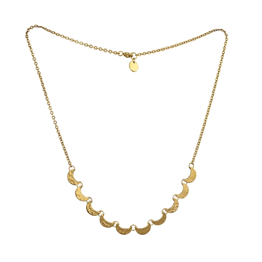 Scalloped necklace 2