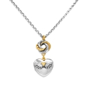 Loveknot Locket Necklace