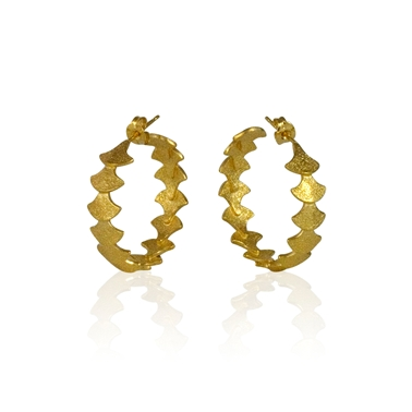 Siren Sequence Hoop Earrings