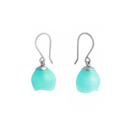 Single drops - silver/Turquoise