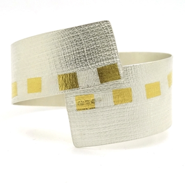 Gold Threading Cuff
