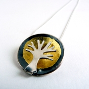 small tree dome pendant