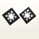 Glasgow Earring Black