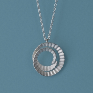 Spiral-Pendant-Silver-small by Clara Breen
