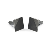 Square Two Tone Cufflinks