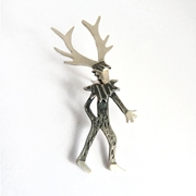 Wild thing stag pin