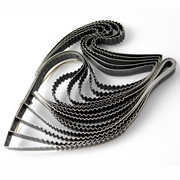 Statement Strata Brooch - Oxidised Silver and 9ct gold By Clara Breen