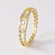 Strata diamond band - 18ct gold