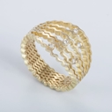 Strata Ring 18ct gold with diamonds - By Clara Breen