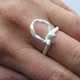 string ring with top loop