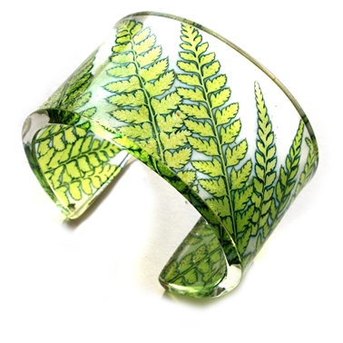 Lime fern cuff 45mm