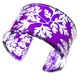 Purple Herb Robert leaf cuff