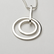 double circles pendant