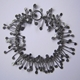 Fiona DeMarco Chaos wire bracelet, oxidised