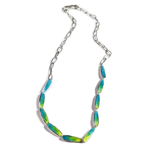 Thrive slinky necklace