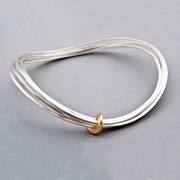 Total Honesty bangle with gold