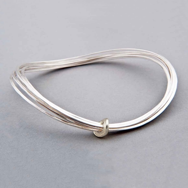 Total Honesty bangle silver