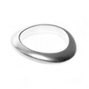 4mm Silver Shell Band