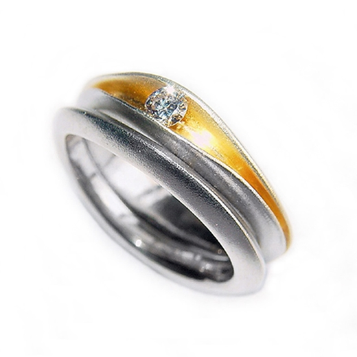 Shell Wedding Band
