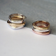 3.5mm wide silver