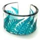 Turquoise Fern Cuff Bracelet