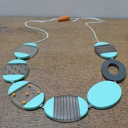 Turquoise ovals necklace