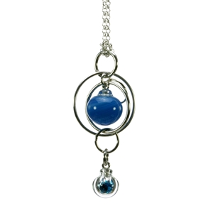 turquoise-flame-worked-glass-double-bubble-sterling-silver-pendant-by-charlotte-verity
