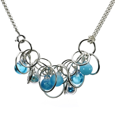turquoise-flame-worked-glass-seven-bubble-sterling-silver-necklace-18inch-by-charlotte-verity