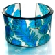 Turquoise Conifer cuff