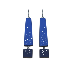Two Blue earrings