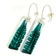 Veridian Fern earrings
