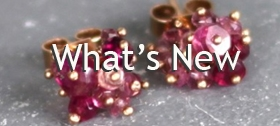 What's new - Earrings by Kate Wood