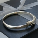Triangular Bangle 2 Charms
