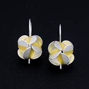 Windmill dangling earrings