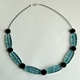 Jade wired necklace