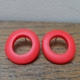 Red wobble hoops