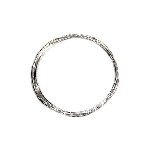 wrap bangle silver top
