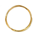 wrap bangle gold 2