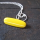 yellow pendant t-bar detail