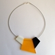 Yellow Fragments Necklace